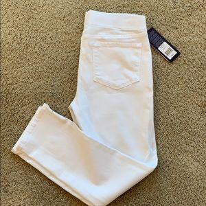 NYDJ ALINA   PULL ON ANKLE JEANS SIZE 8